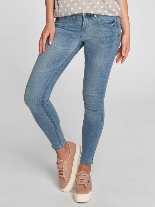 Blend She Skinny Jeans Nova Hazen Crop niebieski