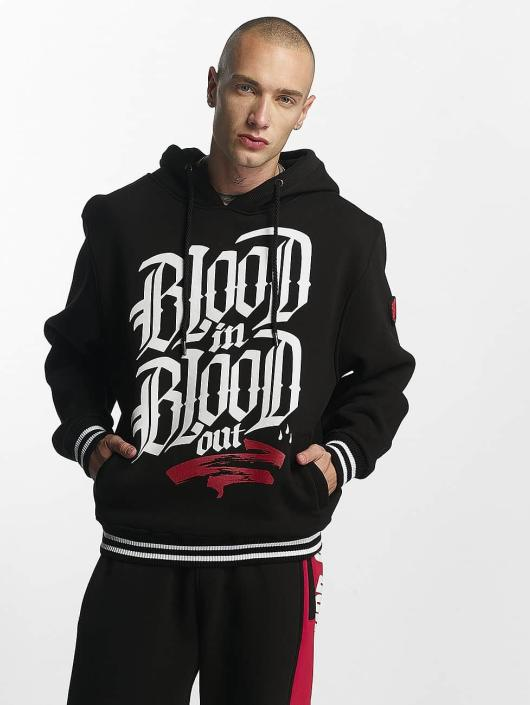 Blood In Blood Out Hoody Logo zwart