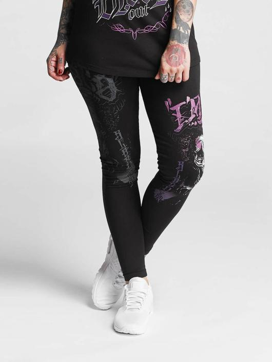 Blood In Blood Out Legging Loco zwart