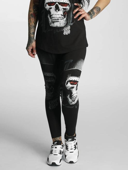 Blood In Blood Out Leggings/Treggings Skull Hat black