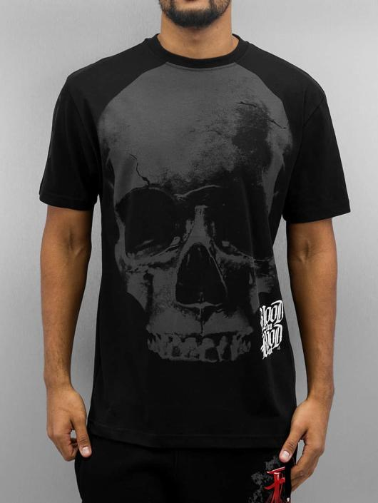 Blood In Blood Out T-Shirt Blood Big Calavera black