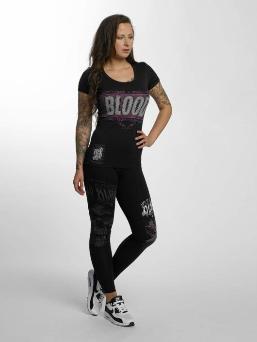 Blood In Blood Out T-Shirt Clean Logo black
