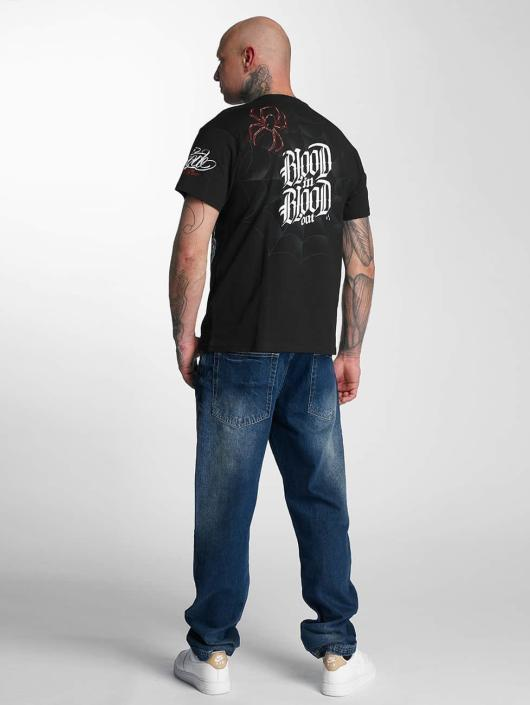Blood In Blood Out T-Shirt Out Ranio Negro noir