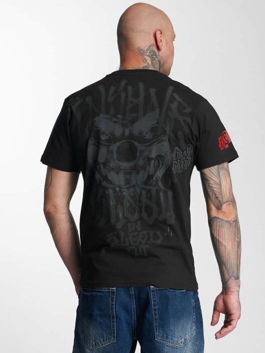 Blood In Blood Out T-Shirt Red Harlekin noir