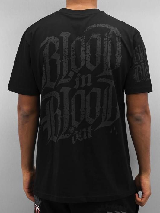 Blood In Blood Out T-Shirt Blood Big Calavera schwarz