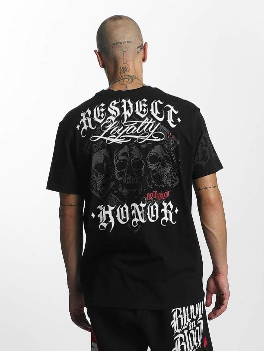 Blood In Blood Out t-shirt Lema zwart