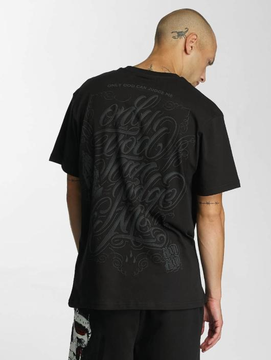 Blood In Blood Out T-Shirty God Judge czarny