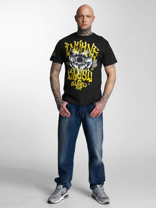 Blood In Blood Out T-skjorter Yellow Harlekin svart