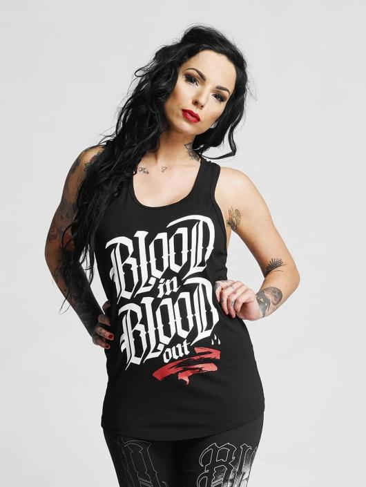 Blood In Blood Out Tank Tops Klassik čern