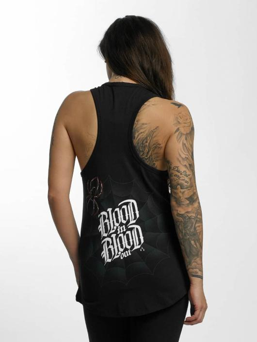 Blood In Blood Out Tank Tops Ranio Negro czarny