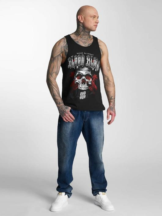 Blood In Blood Out Tank Tops Blood Out Black Honor svart