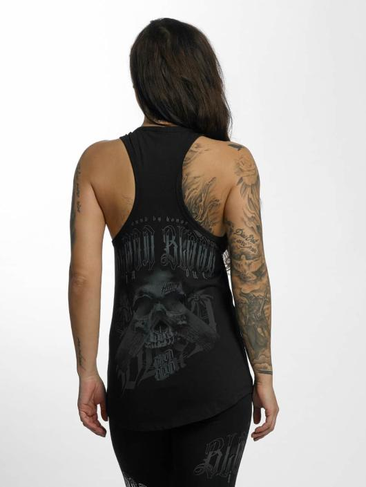 Blood In Blood Out Tank Tops Black Honor svart