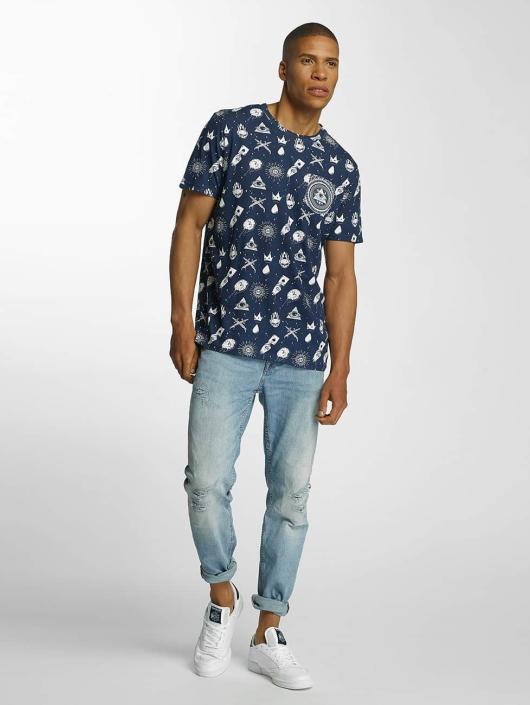 Brave Soul Camiseta All Over Print azul