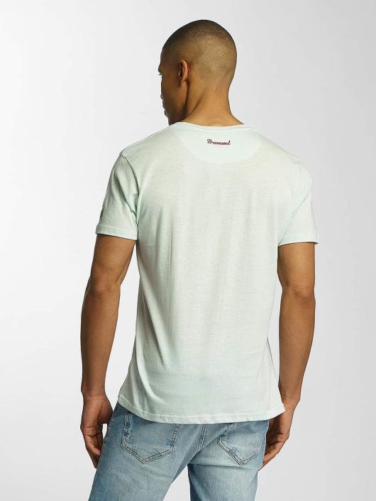 Brave Soul Camiseta Crew Neck verde