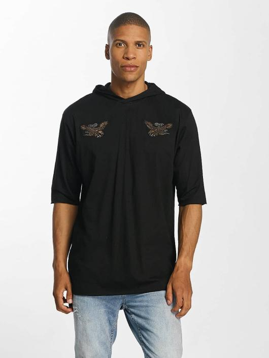 Brave Soul Hupparit With X 2 Bird Embroideries musta