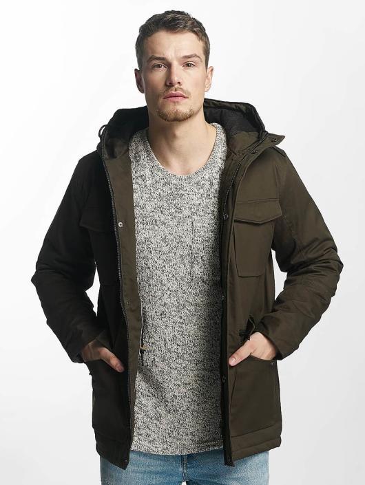 Brave Soul Kurtki zimowe Brave Soul Winter Jacket khaki