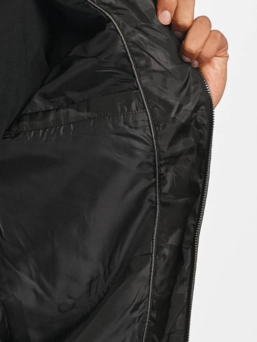 Brave Soul Letecká bunda Jaquard Camo čern
