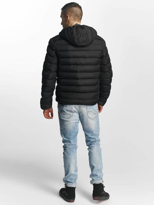 Brave Soul Manteau hiver Quilted noir
