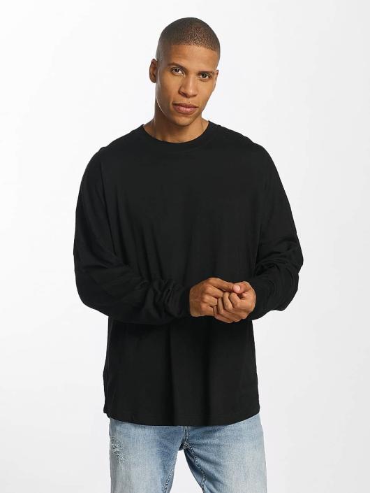 Brave Soul Pitkähihaiset paidat Global musta