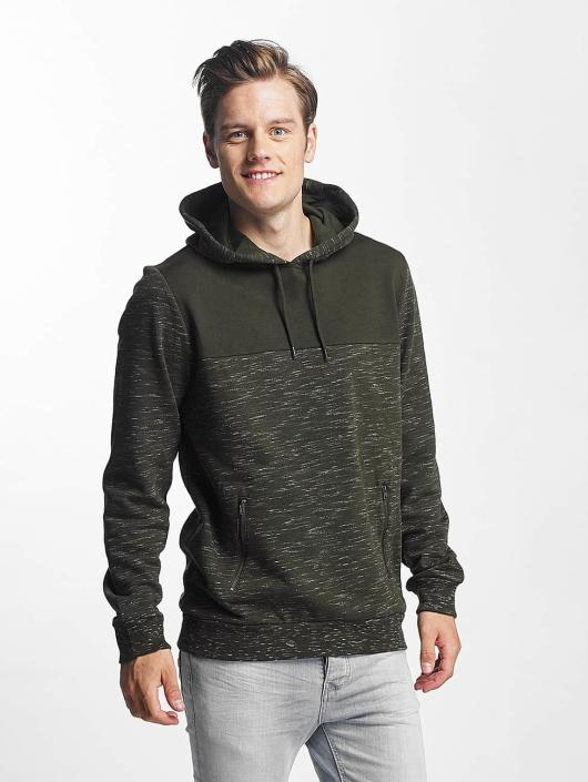 Brave Soul Sweat capuche Fleck Detail To Body Jumper kaki