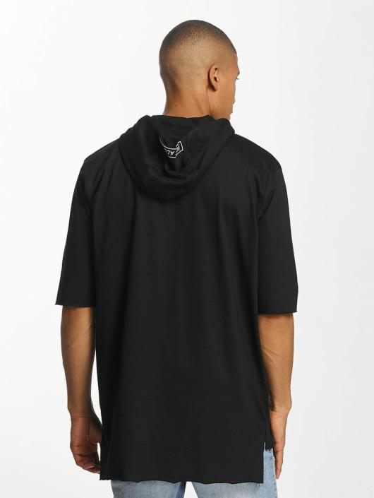 Brave Soul Sweat capuche With X 2 Bird Embroideries noir