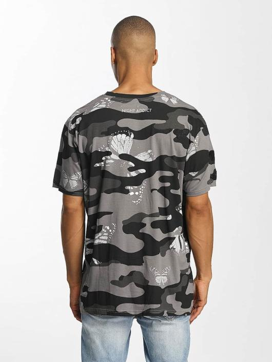 Brave Soul T-paidat Soft Printed All Over camouflage
