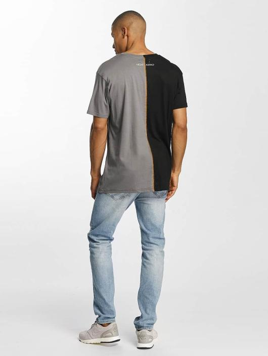 Brave Soul T-paidat Cut And Sew musta