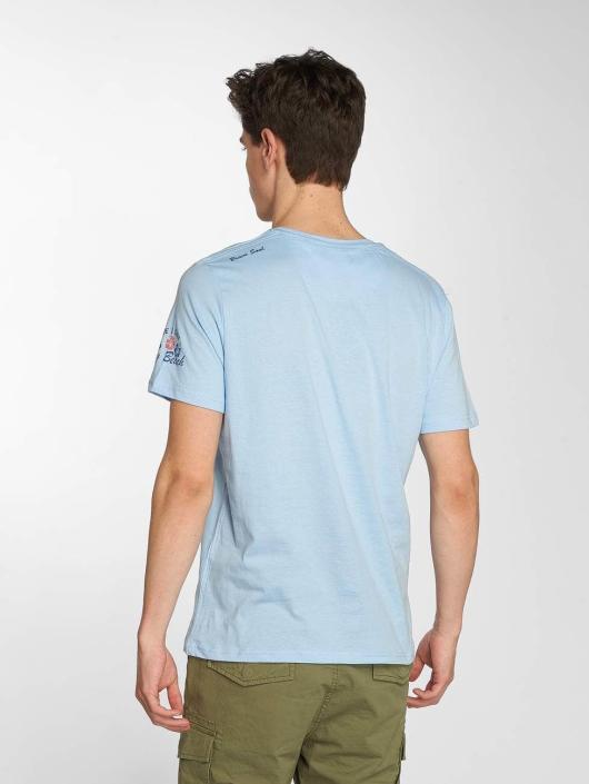 Brave Soul T-Shirt Waves blau