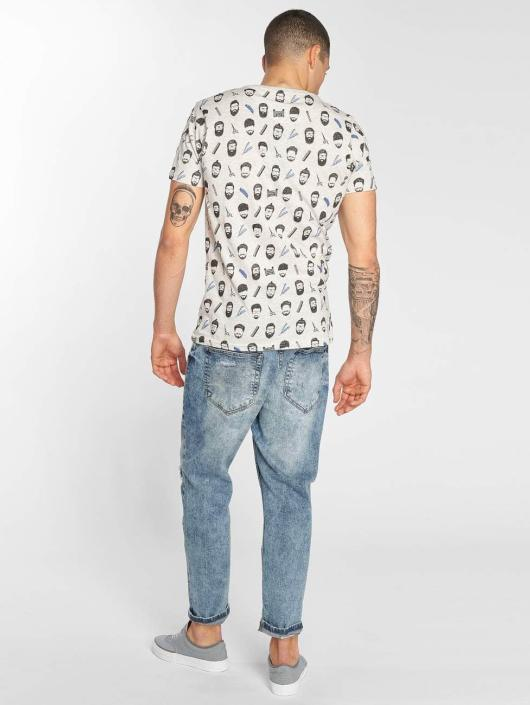Brave Soul T-Shirt Barber grau