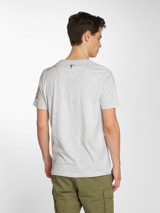 Brave Soul T-Shirt Brighton grau