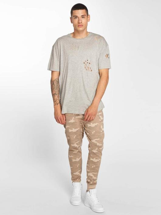 Brave Soul t-shirt Benji grijs