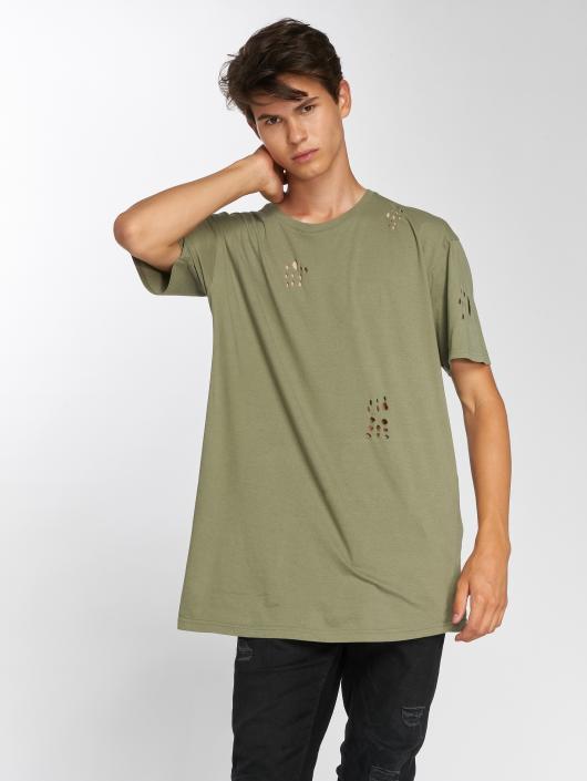 Brave Soul T-Shirt Benji olive