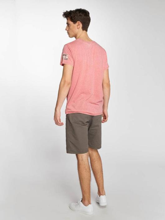 Brave Soul T-Shirt Bridge rosa
