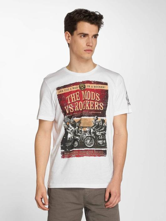 Brave Soul T-Shirt Brighton weiß