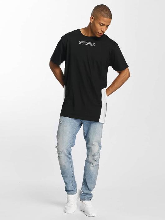 Brave Soul t-shirt Monochrome zwart