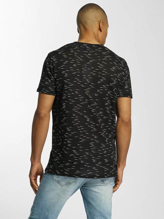 Brave Soul T-Shirty All Over czarny