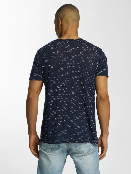 Brave Soul T-skjorter All Over blå