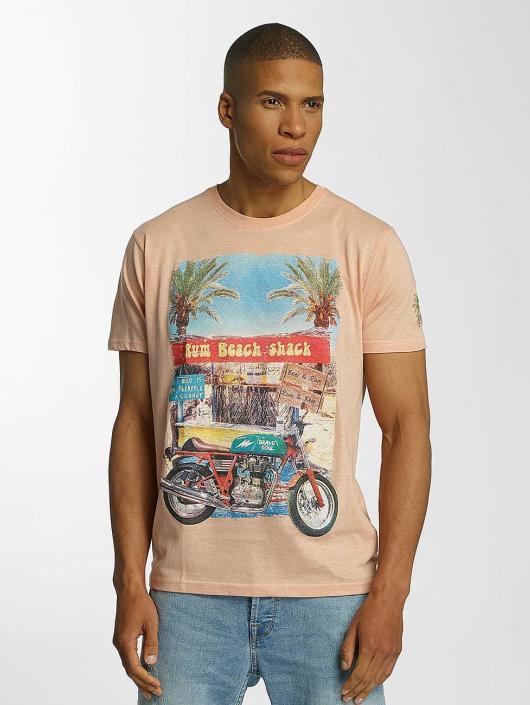 Brave Soul T-skjorter Crew Neck oransje
