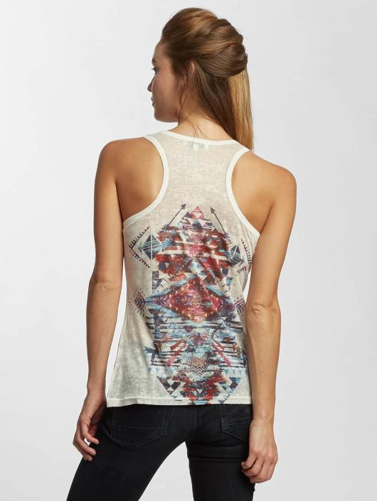 Brave Soul Tank Tops Sublimation bialy