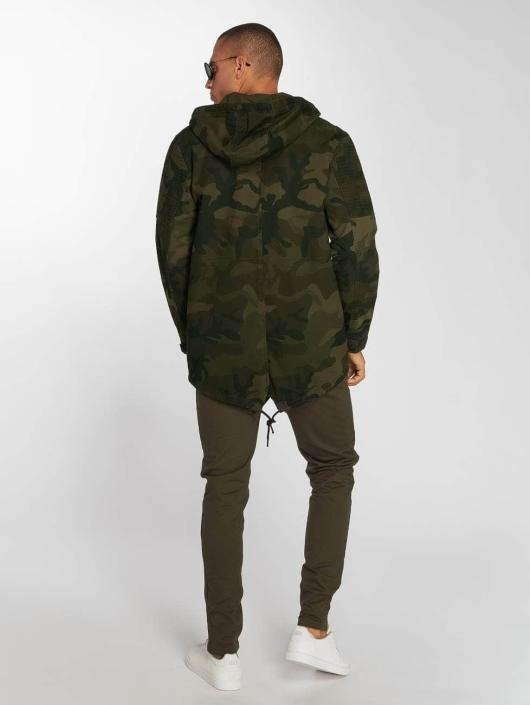 Brave Soul Veste mi-saison légère Motram camouflage
