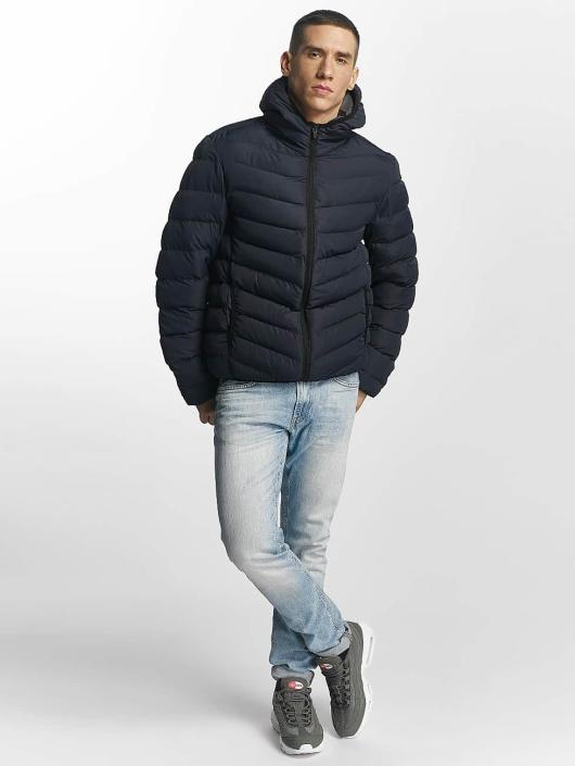 Brave Soul Winter Jacket Quilted blue