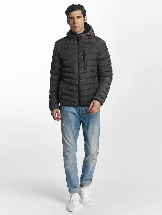 Brave Soul Winter Jacket Puffer grey