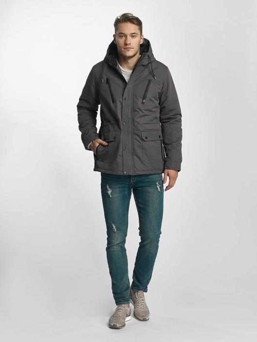 Brave Soul Winter Jacket Joseph grey