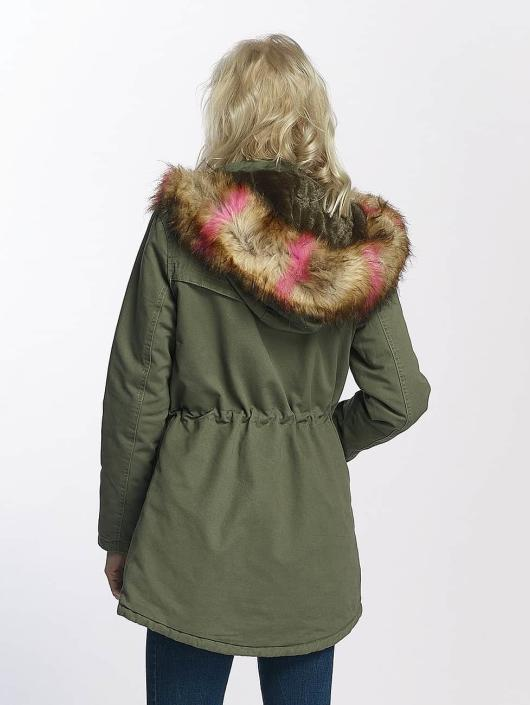Brave Soul Winter Jacket Washed khaki
