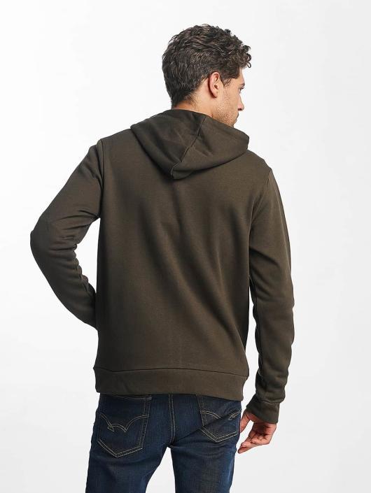 Brave Soul Zip Hoodie Adrian khaki