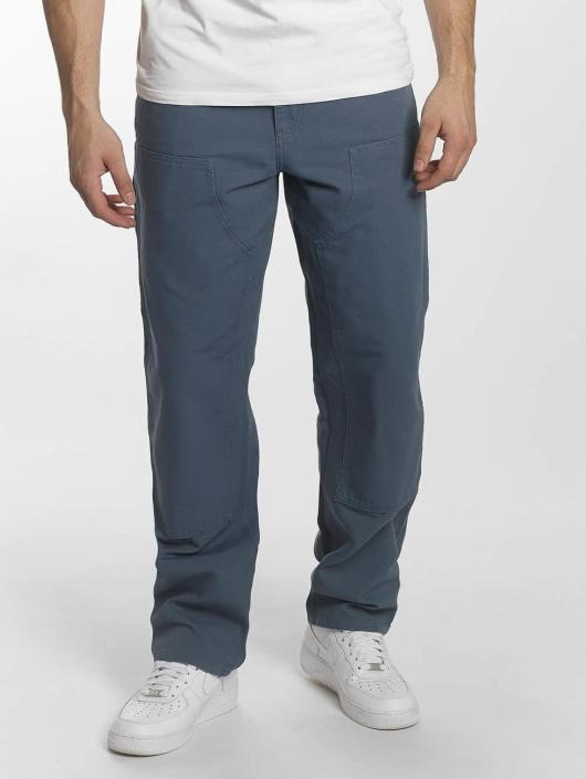 Carhartt WIP Chino pants Dearborn Double Knee blue