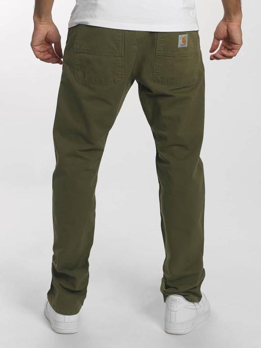 Carhartt WIP Chino pants Newcomb Chalk green
