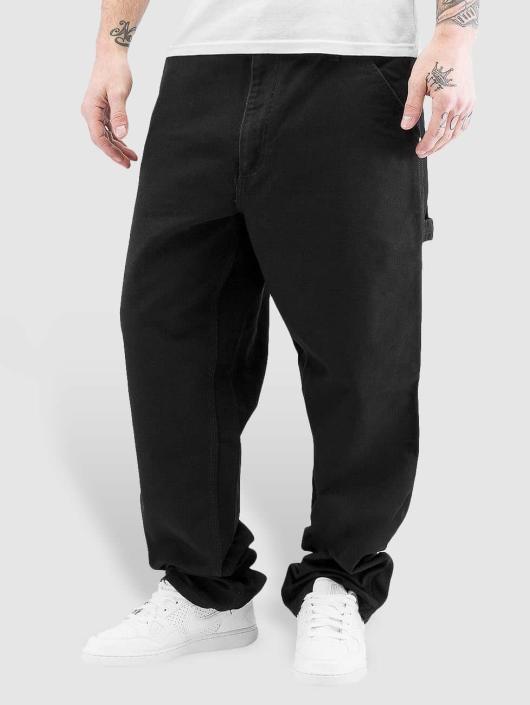 Carhartt WIP Chinot/Kangashousut Turner Single Knee musta