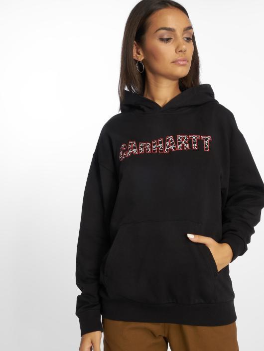 Carhartt WIP Hoody Hearts schwarz