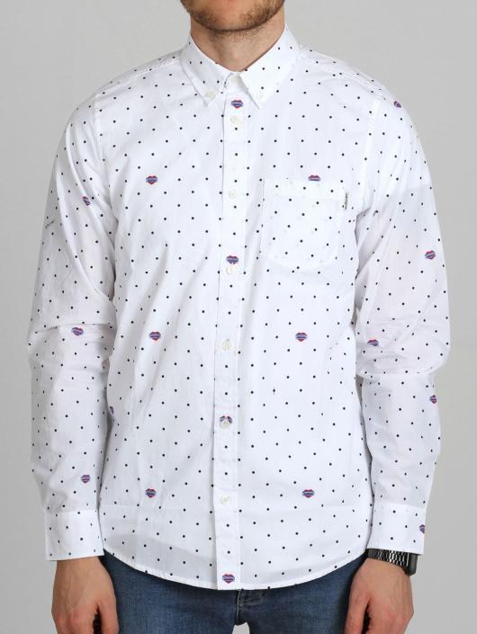 Carhartt WIP Koszule LS Heart Polka czarny